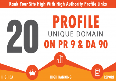 Manually create 20 PR9-7 Hummingbird Safe White Hat SEO Backlinks