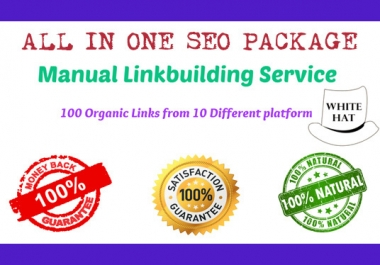 All In One Manual SEO Link Building Plan
