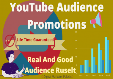 Organic YouTube Video Promotion And Real Audience Grow