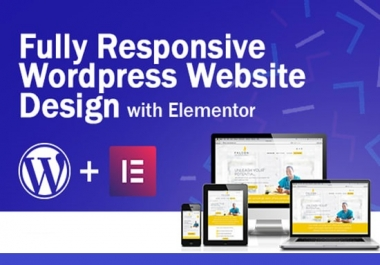 All Completed Responsive Any WordPress Website Design