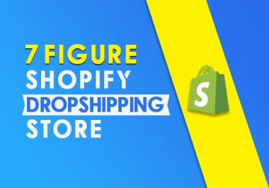I will create an automated shopify dropshipping shopify store with oberlo and aliexpress