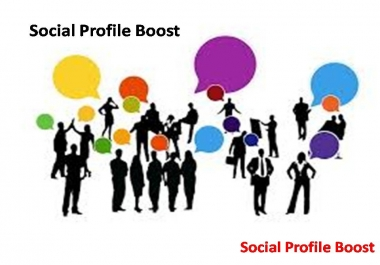 Get Instant Social Profile Booster with fast delivery