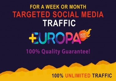 BOOST TARGETED SOCIAL MEDIA TRAFFIC