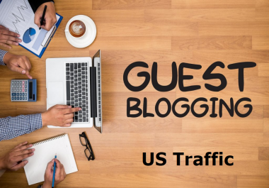 Promote Sponsored/Guest Posts on a website With US Traffic