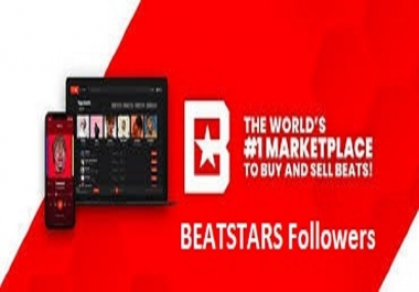 BEATSTARS Followers/Likes/Reups/STREAMS with cheap rate