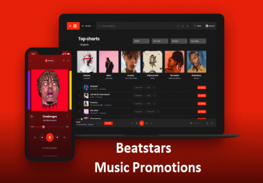 1.2k real Beatstars streams +150 Followers +100 likes very cheap rate