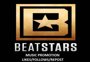 BEATSTARS Followers/Likes/Reups to track in cheap rate