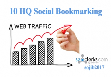 10 High-Quality Social Bookmarks Backlink