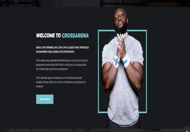 Develop a Professional SquareSpace Website