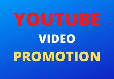 Super Fast HQ YouTube Video promotion pack social media marketing just