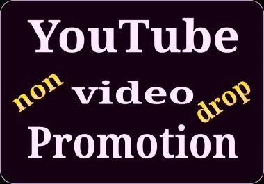 I will do manually YouTube video promotion via world wide real users and fast delivery
