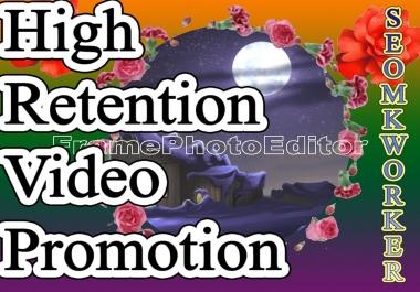 Limited Time Superb Offer YouTube Video Promotion Social media marketing