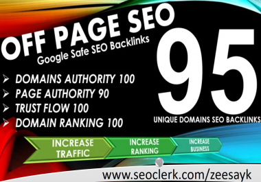 I will manually do 95 UNIQUE PR10 SEO BackIinks on DA100 sites