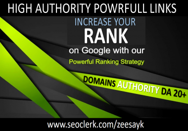 Increase Your Google Rank with Quality Links