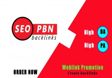 Create High DA PA PBN Backlinks to Rank higher in google