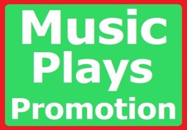 Music Album Playlist Promotion Organic Listeners