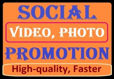 Social Media Video and other Promotion Favourites