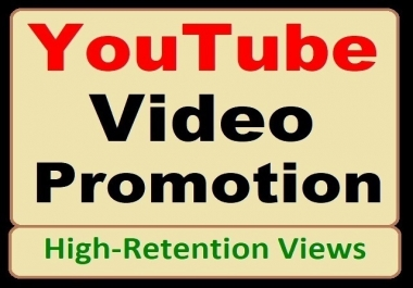 High-quality YouTube Video Marketing and Social Media SEO Promotion