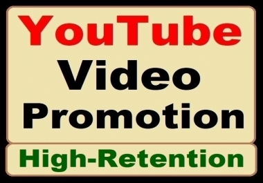 YouTube Video Organic Promotion Genuine Marketing