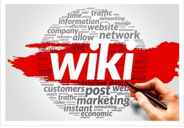 400+ wiki article contextual seo back link
