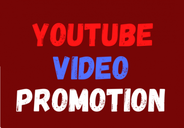 Guaranteed Instant Real YouTube Video Via Manual Social Media Marketing Promotion