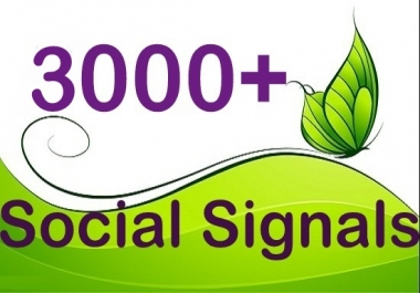 Best Quality Social Signals From Best Social Sites (PR9-10)