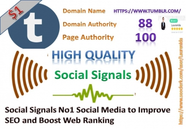 Rocket Delivery 430 High Quality Tumblr Share Social Signals to Improve SEO and Boost Web Ranking