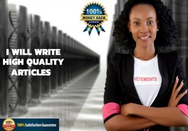 500 WORD SEO OPTIMIZED ARTICLE