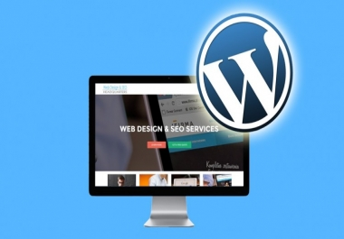 I Will Design A Professional Wordpress Website - SEO & SPEED OPTIMIZED