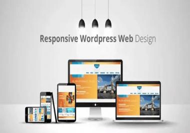 I Will create Professional Wordpress Website