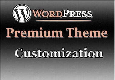 Customize Any Premium WordPress Theme Website Within 24 Hour