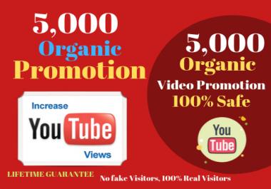 Good retention youtube promotion no drop guarantee YT video SEO & Promotion