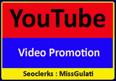 Organic Youtube Video Promotion and Best Marketing