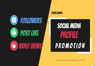Get instant Social Media Promotion with Social Media Marketing