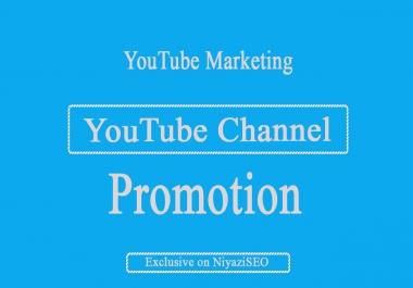 YouTube Marketing Via YouTube- Social Media Promotion