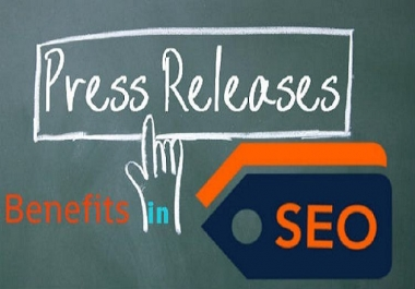 do press release distribution to 30 sites with google news and report with delivery