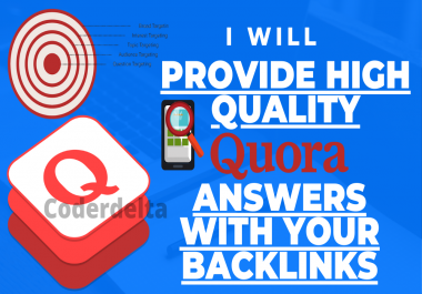 I will Provide 5 High Quality Qoura Answers