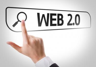 40+ web 2.0(Dedicated Account) Back-links