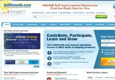 Write and Publish Guest Post On Selfgrowth.com DA65