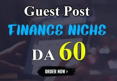 Write & Publish Guest Post On Finance Blog DA-60