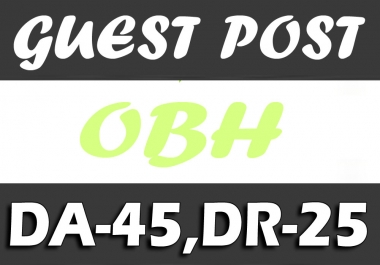 "Write and Publish UNIQUE Guest Post on "" OPUSBEVERLYHILLS"" DA-45"
