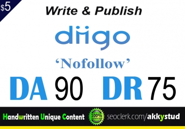 "write and publish UNIQUE guest post on ""Diigo"" DA-90"