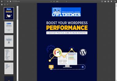 improve your WordPress Performance