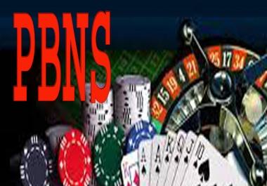 Boost Ranking with 54 Casino PBN Links- Casino / Gambling / Poker / Betting / sports sites