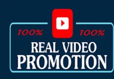 Promoted video promotion social media marketing