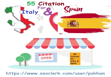 55 Citation For Italy and Spain
