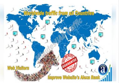 5k Worldwide website visitor adsense safe