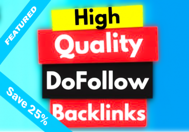 Get 500 do follow PR-3 to 9 backlinks 2 day delivery