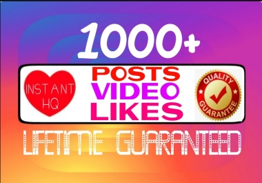 Add 1000+ high quality social post or video promotion