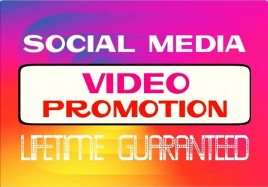 Add Social video Promotion Instantly and Professionally